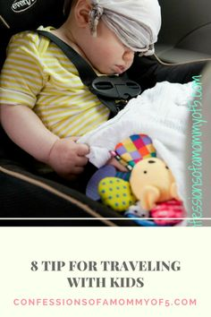 8 kid traveling tips - Confessions of A Mommy of 5