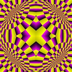 optical illusion with ball that appears to be moving or rolling parts ...