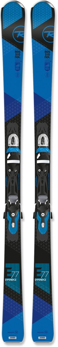 Rossignol Male Experience 77 Skis With Bindings - Men's /2016
