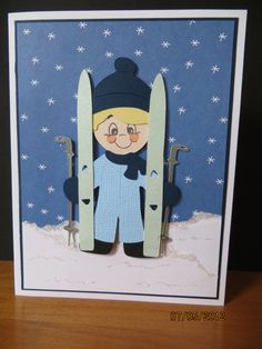 Everyday Paper Dolls - skiing