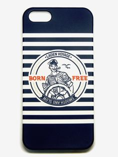 WCONCEPT:W컨셉 - [smooth&slow:스무쓰앤슬로우] iPHONE 5/5s CASE_BORN FREE