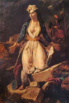 Theodoros Vryzakis (born in Thebes 19 October 1814 – died 6 December 1878 in  Munich ) was a major Greek painter of the  Greek War of Independence,19th century.