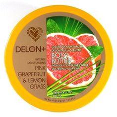 Delon+ Body Butter Pink Grapefruit & Lemon Grass Your Skin, Dry Skin, Pink Grapefruit, Lemon Grass, Moisturizer, Berries, Personal Care, Skin Care