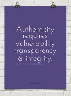 My favorite of Thirty One's Core Values..Authentic