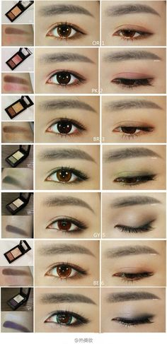 Asian makeup eye japanese