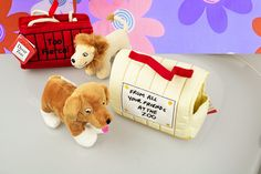 Dear Zoo Plush Toy & Carry Case - 6 Animals!