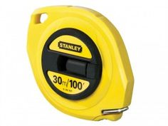 Stanley Closed Case Steel Tape 30m / 100ft