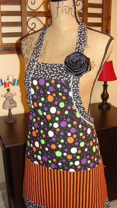Awesome halloween apron! $29.99