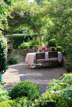 Ein Schweizer Garten: Schwelgen