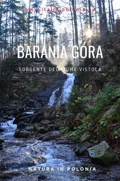 Barania Góra è una delle vette principali dei Monti Beschidi. Famosa in tutta la Polonia per le sorgenti del fiume Vistola, il più lungo in Polonia. #polonia #italiapolonia #fiume #montagna #vistola #wisla #escursione #trekking #hiking #cascata Trekking, Poland, Italia, Hiking