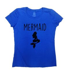 Mermaid Shirt - Great Gift for Anyone!  Love this design? Check out our other Funny Shirts: https://www.etsy.com/ca/shop/CherryTees?section_id=17174369&ref=shopsection_leftnav_8 ___________________________________________________________  All t-shirts are printed on 100% High Quality (Preshrunk) Cotton Branded T-shirts Such As: Fruit Of The Loom Alstyle Gildan  All t-shirts are custom made to order and are printed using the latest ink to garment technology. This is not a cheap heat transfer…
