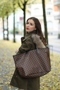 771046a2fcc2 Louis Vuitton Neverfull MM Damier Ebene  Louisvuittonhandbags. See more. lv  neverfull gm - Google Search New Handbags