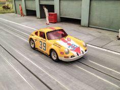 Porsche 911S Targa Florio 1971 Slot Car ho Custom