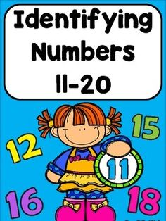 Identifying Numbers 11-20 are math worksheets to cut and paste the correct number and objects on. Also on the worksheet is a place to practice writing the number and to draw the correct number of objects. A simple way to teach numbers for kindergarten.BB Kidz
