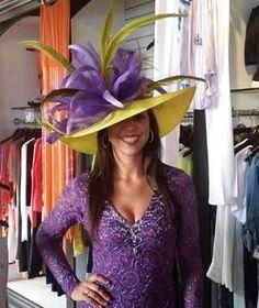 Derby Attire, Derby Outfits, Kentucky Derby Fashion, Kentucky Derby Hats, Chapeaux Pour Kentucky Derby, Funky Hats, Church Hats, Love Hat, Wedding Hats