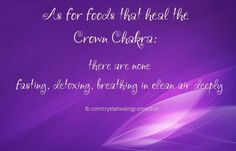 Crown Chakra - Foods that Heal