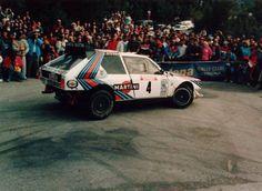 ra Henri Toivonen - Sergio Cresto-Lancia Delta S4 Gr.B-Lancia Martini Racing-Tour de Corse 1986