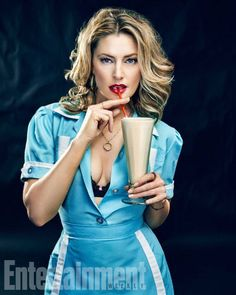 Madchen Amick is back as Shelley.