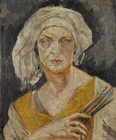 Maria Mela-Muter (1876-1967) ~ Autoportrait