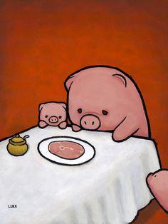 Revenge Is A Dish (Pig)