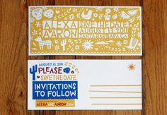 Projetando Convites de Casamento | Mídia Publicitária