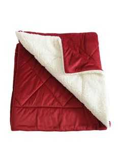 Anna Ricci Micromink Oversized Quilting throw