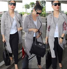 Indian Celebrities, Bollywood Celebrities, Bollywood Fashion, Western Outfits, Indian Outfits, Work Casual, Casual Looks, Celebrity Outfits, Celebrity Style