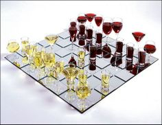 You can now play chess with red wine vs white wine