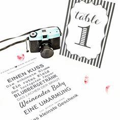 KIDS-KNIPS-RALLYE: Gegen Langeweile bei kleinen Hochzeitsgästen.