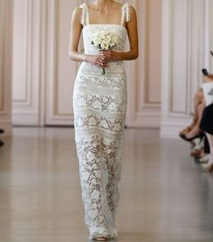 16 Stunning Wedding Dresses for a Casual Beach Wedding via @WhoWhatWear