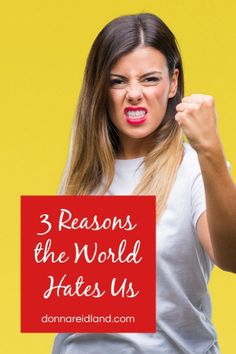 Christians, throughout the centuries, have been persecuted, rejected and martyred for their faith. What are some of the reasons why the world hates us? Paul Nyquist in his book Prepare: Living Your Faith in an Increasingly Hostile Culture lists 3 reasons. Yet, while we can't avoid these truths, there needs to be an important word of caution. #persecution #christians Christian Living, Christian Faith, Bible In A Year, Understanding The Bible, Free Bible, September 10, Persecution, Knowing God, Spiritual Growth