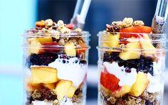 Græsk yoghurt med granola