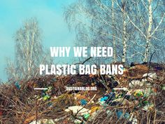 Millions of Americans are now covered by a plastic bag ban or fee. #plasticbags #california #litter #bagban