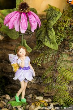 Fairy gardens are a wonderful way to bring the outdoors in! Create a unique treasure to sit inside during the winter months, then transition it back outside as the weather warms up.