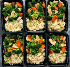 Chicken and Broccoli Stir Fry Meal Prep – fitness meal prep Stir Fry Meal Prep, Lunch Meal Prep, Meal Prep Bowls, Easy Meal Prep, Healthy Meal Prep, Easy Healthy Recipes, Healthy Snacks, Easy Meals, Healthy Eating
