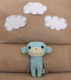 Blue Monkey - by suchasoftie on madeit