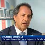 Daniel Scioli: Entrevista con Luis Majul en La Cornisa