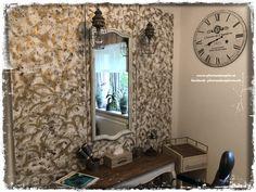 Von Eiche Rustikal zu Shabby Chic ... www.pfuetzenhuepfer.at - facebook:pfuetzenhuepferswelt Annie Sloan, Chalk Paint, Upcycle, Shabby Chic, Curtains, Facebook, Mirror, Diy, Vintage