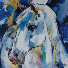 Horse by Lou Thissen available at GALLERIA J in San Gimignano, Italy