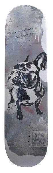 French Bulldog- by DENAMBRIDE  (on concrete)