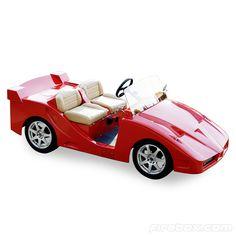 F5 Custom Golf Cart £17,995 Electric Golf Cart, Custom Golf Carts, Golf Score, Golf Lessons, Ferrari, Luxury, Vehicles, Sports, Leather Seats