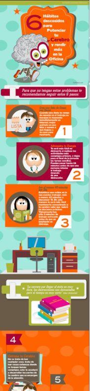 6 hábitos para potenciar tu cerebro.