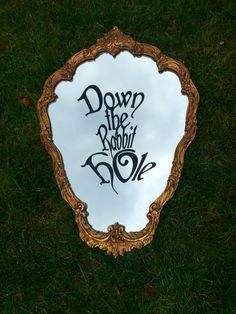 Hey, I found this really awesome Etsy listing at https://www.etsy.com/listing/249633142/down-the-rabbit-hole-decal-alice-in