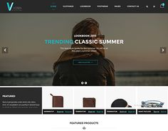 """Check out new work on my @Behance portfolio: """"Voisen - Responsive eCommerce Fashion Template"""" http://be.net/gallery/41329711/Voisen-Responsive-eCommerce-Fashion-Template"""