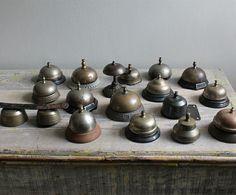 vintage hotel bells