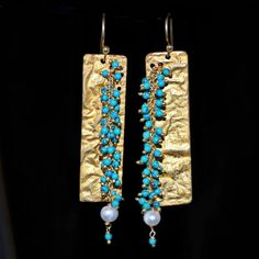 Parijata Designs\Instinct now on exhibit at the Contemporary Craft Market June in Santa Monica CA space 207 Modern Jewelry, Metal Jewelry, Jewelry Art, Jewelry Accessories, Bijoux Design, Jewelry Design, Beaded Earrings, Beaded Jewelry, Unique Earrings