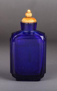 19th Century Chinese Peking Glass Snuff Bottle
