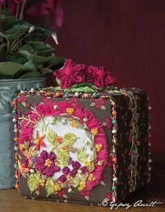 Gipsy Quilt: Boîtes et Trousses et Sacs