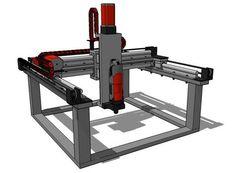 Aldric Negrier, ein User der DIY-Plattform Instructables, hat eine Bauanleitung für eine Maschine veröffentlicht, die als 3D-Drucker sowie CNC-Fräse dient