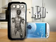 Galaxy S3 Case  Non 3D Carbonite Cover GS3 by LBCustomDesignsLLC